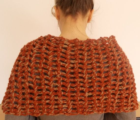 Hand crochet Neck Warmer Ready to ship by vivighiocel on Etsy