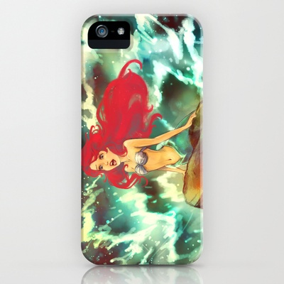 The Mermaid iPhone Case by Alice X. Zhang - $35.00