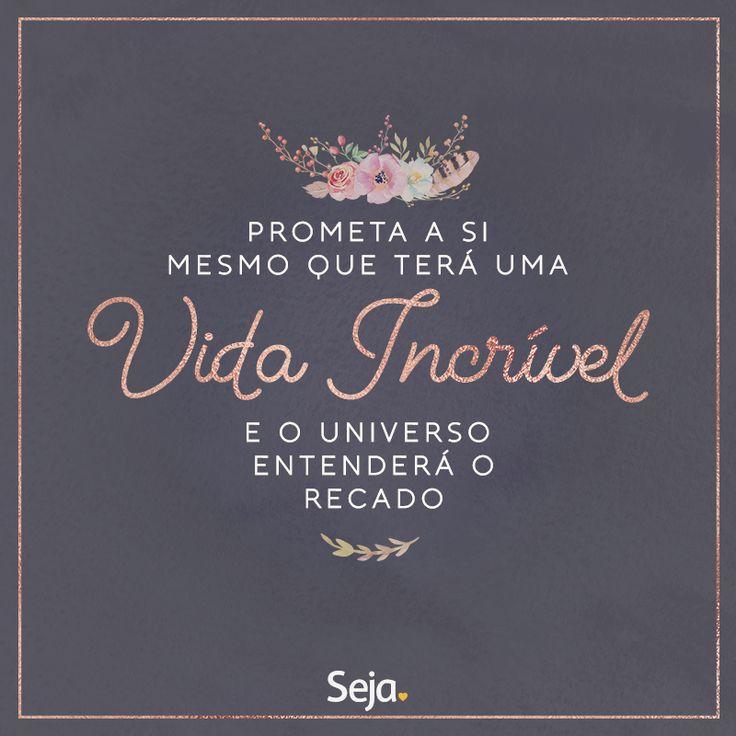 https://www.facebook.com/projetosejavoce/ https://www.instagram.com/projetoseja #sejapositivo #leidaatração #positividade #osegredo #positivity #projetoseja #seja