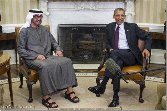 Obama abordó con el príncipe heredero de Abu Dhabi las preocupaciones sobre Irán - http://www.leanoticias.com/2015/04/21/obama-abordo-con-el-principe-heredero-de-abu-dhabi-las-preocupaciones-sobre-iran/
