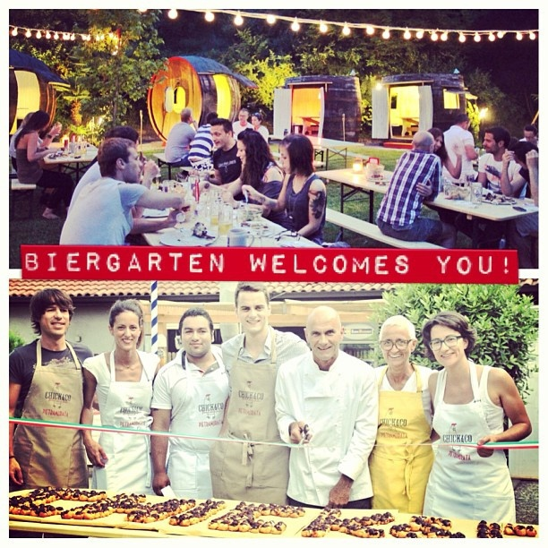 #chickenco: il primo #gastropub e #galletteria del #trentino presenta il nuovissimo #biergarten! www.chickenco.it