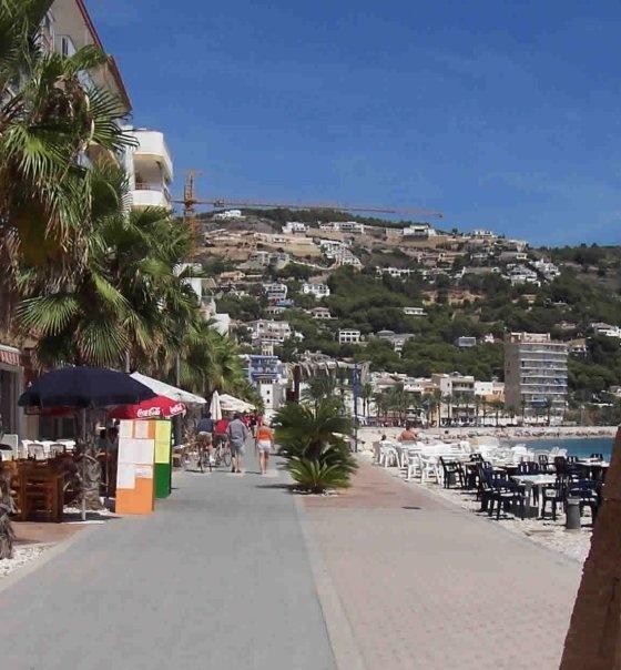 The Javea Ports Pebbled Beaches