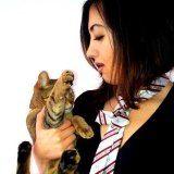 ''Model'' met de Jerryaan-Doble Presilla wit gestreept. Mooi contrast met de kleine tijgerstrepen.