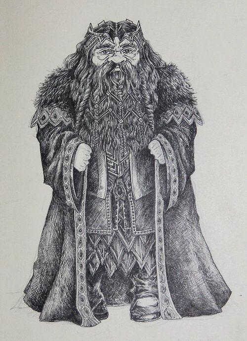 Thror Oakenshield, King under the Mountain.