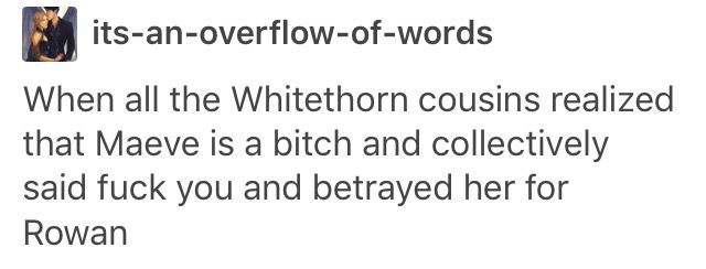 The Whitethorn family EMPIRE OF STORMS SPOILERS