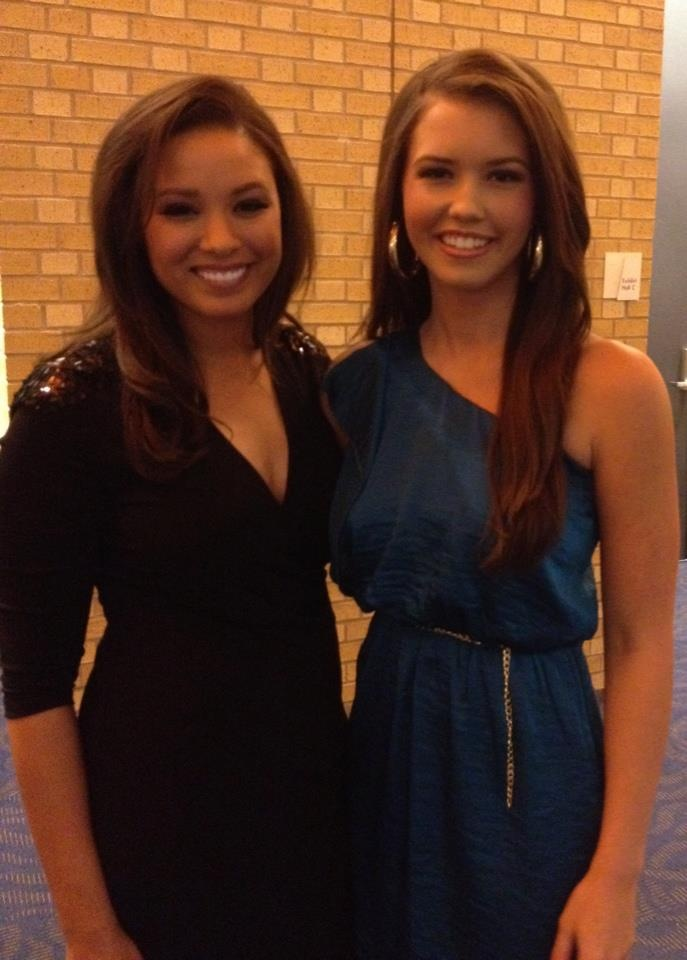 Miss Arkansas Alyse Eady and I!