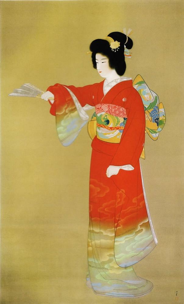 上村松園 序の舞 1936年