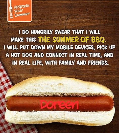 I pledge to make this the summer of BBQ. Take the #UpgradeYourSummer pledge & enter to win $5,000!
