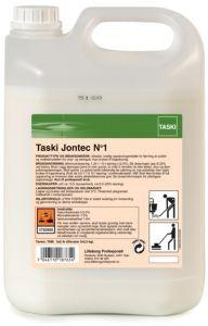 Solutia profesionala Taski Jontec No 1 se utilizeaza pentru curatarea suprafetelor cu un grad mare de murdarie, fara clatire