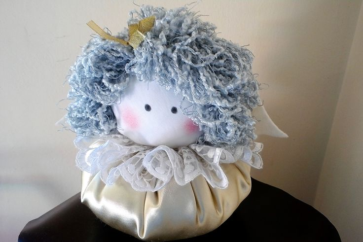 Handmade fabric doll - Litlle angel - Christmas decoration