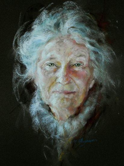 Margaret Ferguson Gaze - Pastel