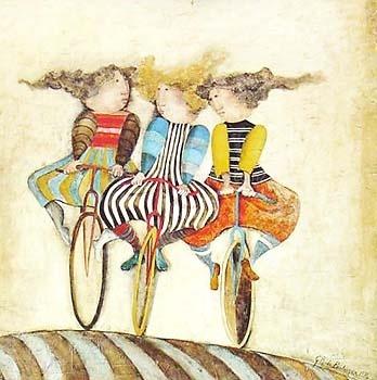 Les meilleures amies du monde : Ana Maria ♥ Anoo ♥ Marie ♥  one of my all time favorite artists...Graciela Rodo Boulanger