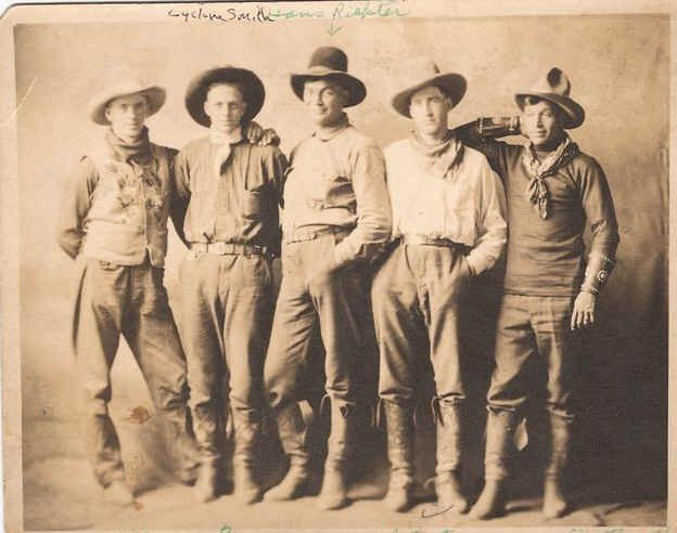Real Old West Cowboys | Old Cowboy Portraits