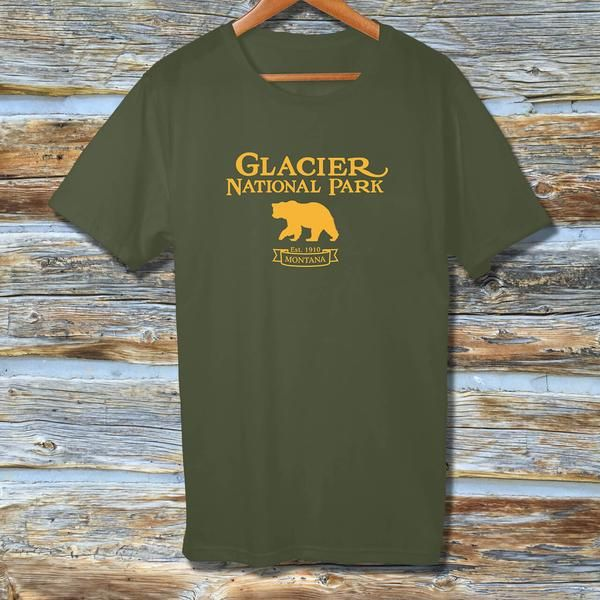 You truly have not hiked Montana until you hike Glacier National Park. Take home this hand-crafted t-shirt to remind you of Glacier's spectacular scenery and wildlife! This super-soft, baby-knit t-shirt by Bella + Canvas looks great on both men and women. It fits like a well-loved favorite, featuring a crew neck and short sleeves.  • 100% ring-spun cotton  • Slim fit: tends to run small  • Baby-knit jersey  • Shoulder-to-shoulder taping  • Cover stitched and hemmed sleeves  • Side-seamed