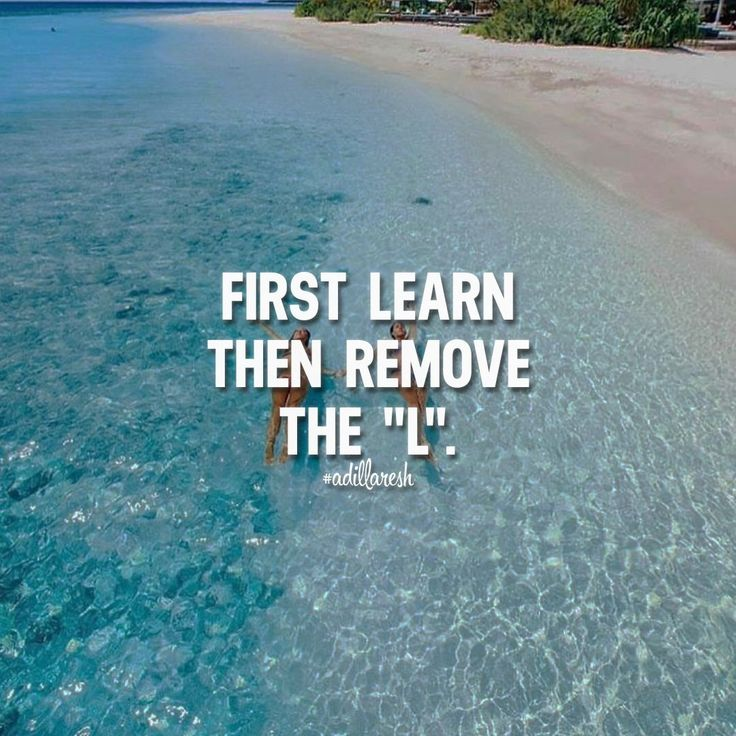 """First Learn then remove the """"L"""". - Tap the link now to Learn how I made it to 1 million in sales in 5 months with e-commerce! I'll give you the 3 advertising phases I did to make it for FREE!"""
