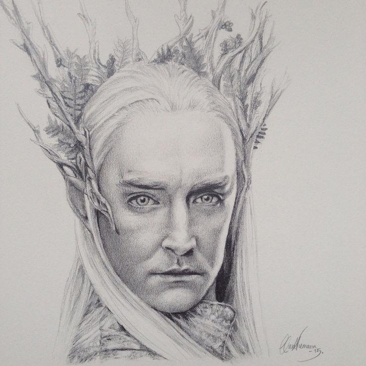 My drawing of Thranduil