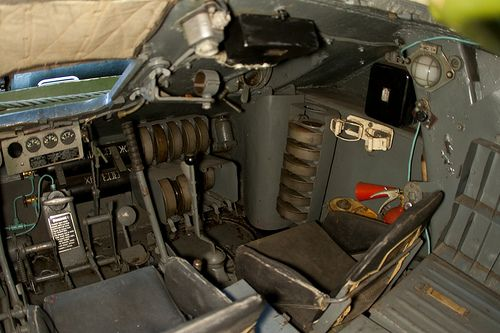 T-34-85 bow gunners position