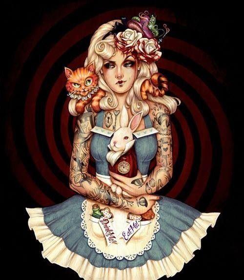 Alice in Wonderland by Glenn Arthur