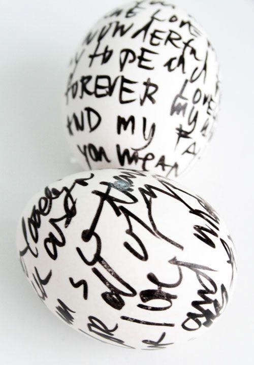 Poetry egg.