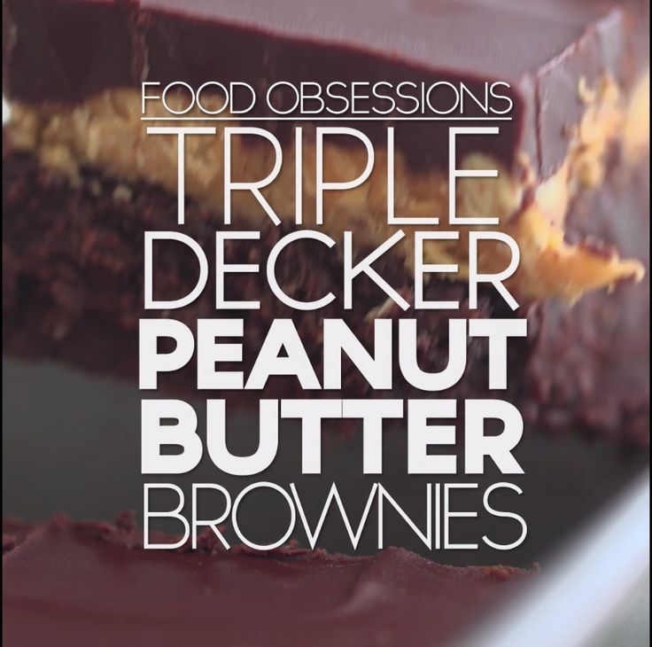 Chocolate and peanut butter for days.