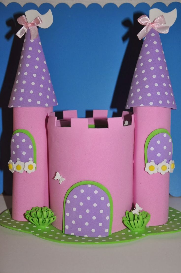 Manualidades reme castillo para una princesa muy especial - Manualidades castillo medieval ...
