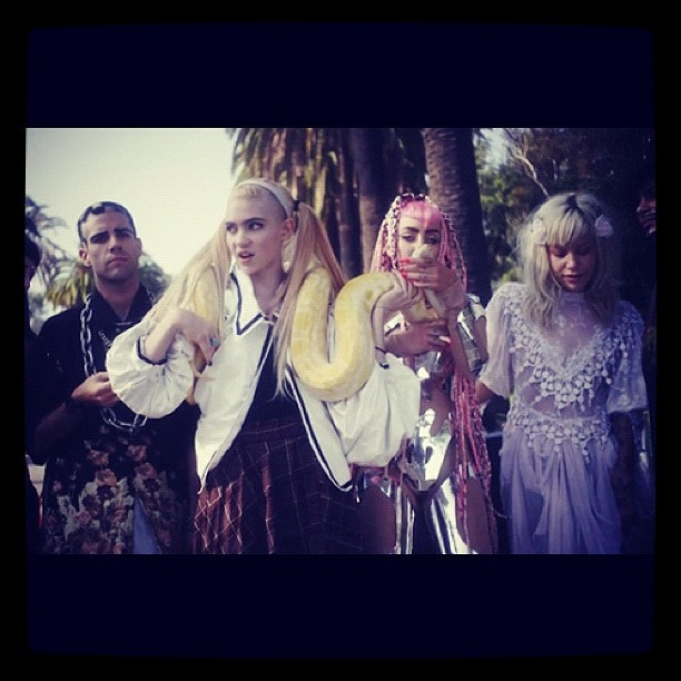 #grimes #genesis #4ad - @remotecontrolrecords- #webstagram