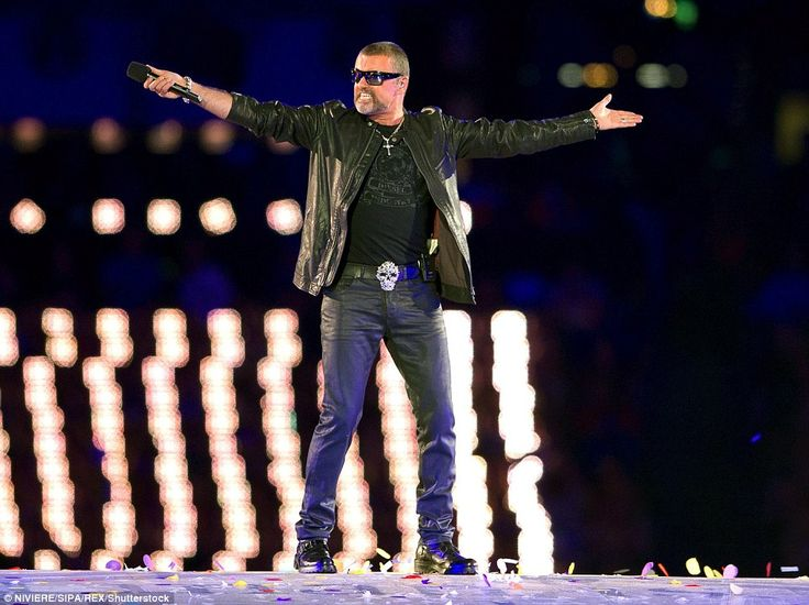 George Michael was on stage when he performed at the Closing Ceremony for the 2012 London Olympics Games