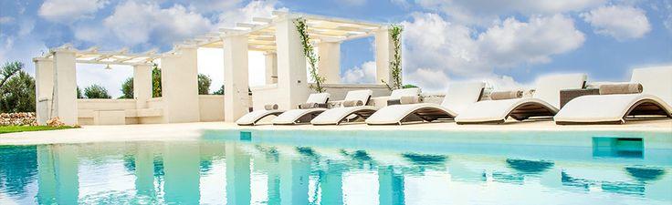 White Stone House with Pool http://www.apuliarentals.com/italiano/ville-e-casali-in-affitto-puglia/white-stone-house-con-piscina/