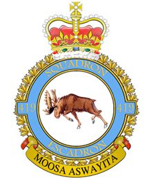 419 Tactical Fighter Training Squadron | 15 Wing | Royal Canadian Air Force