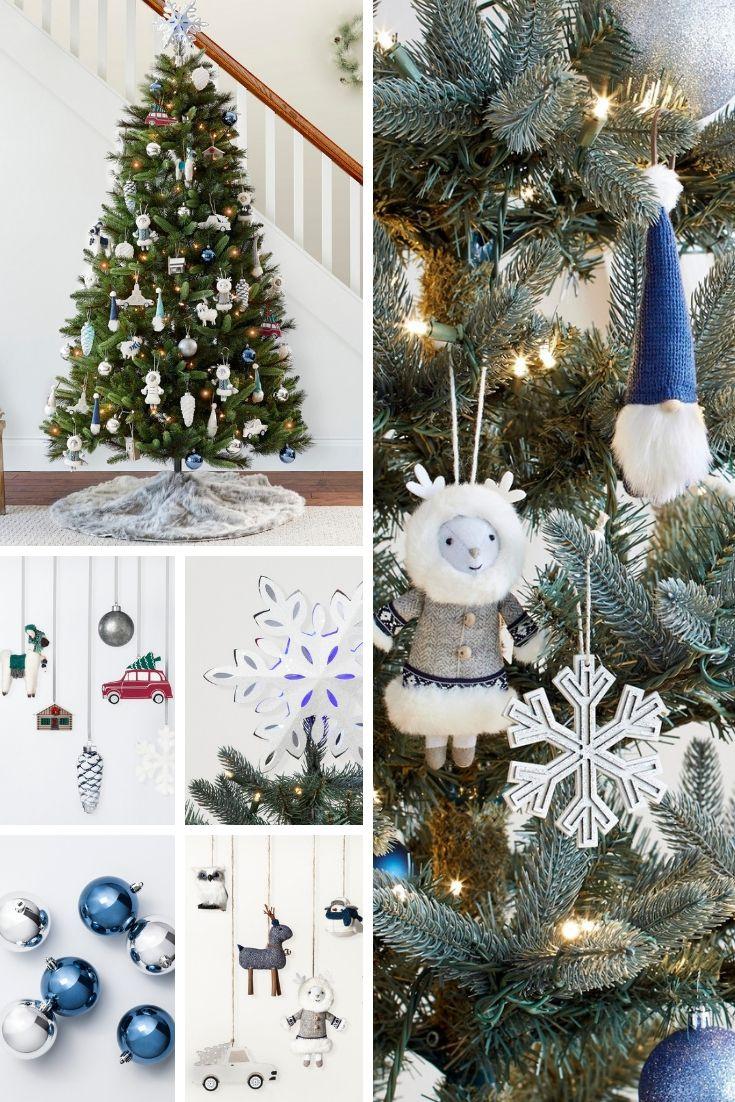 Love This Birchwood Bay Christmas Tree Decorating Kit Holiday Holidays Celebrat Traditional Christmas Tree Frosted Christmas Tree Christmas Tree Inspiration