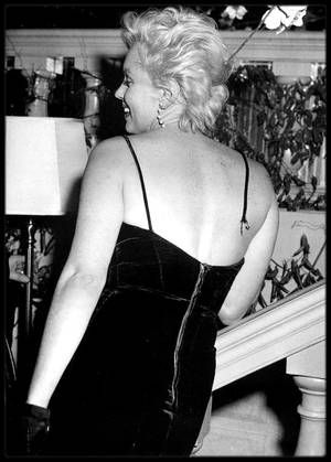 """9 Février 1956 / Le 9 février 1956, on organisa une conférence de presse à la """"Terrace room"""" du """"Plaza Hotel"""" pour annoncer au monde entier ce grand mariage cinématographique - celui du meilleur acteur classique d'Angleterre et de la plus grande séductrice d'Hollywood ; Bien qu'elle ait nié toute préméditation, il est évident que Marilyn orchestra l'événement à la perfection, volant la vedette au plus grand acteur vivant au monde, lorsqu'elle se pencha en avant et que l'une de ses fines…"""