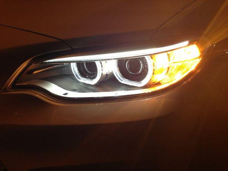 Xenon Adaptive Headlights With Corona Headlight Rings And