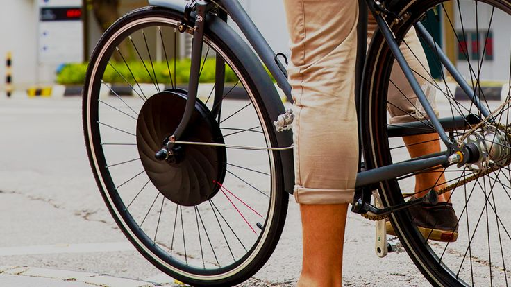 Simply replace your front bike wheel with the UrbanX Electric E-Bike Wheel to instantly receive a 30 mile range with a 20mph top speed.