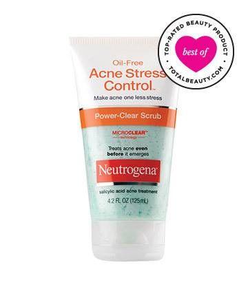 Best Drugstore Acne Product No. 8: Neutrogena Oil-Free Acne Stress Control Power-Clear Scrub, $7.99