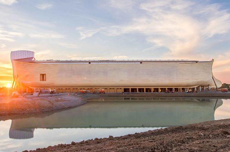 Creation Museum Founder Builds $91 Million Model of Noah's Ark in Kentucky http://lnk.al/1f38