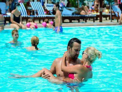 Bucharest Pool Beach Party #stagdo #bucharest #poolparty