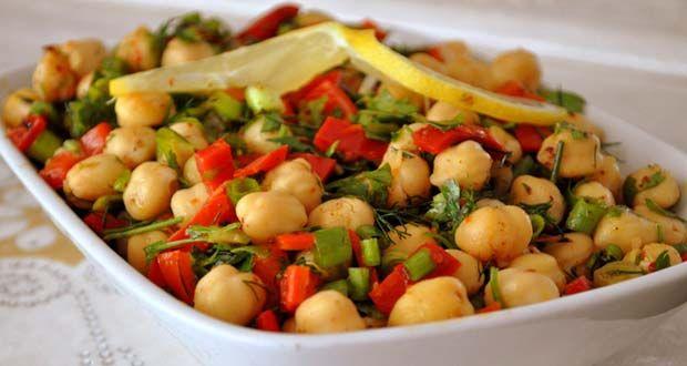 Nohut Salatası Tarifi | Kadınca Tarifler - Kadınlar İçin Özel Paylaşımlar - Yemek Tarifleri