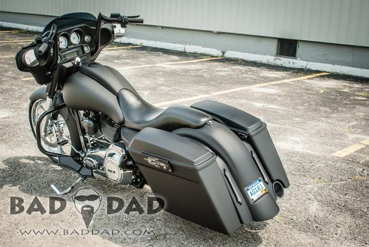 Bad Dad | Custom Bagger Parts for Your Bagger | 975 Bagger Bars for Road King & Road Glide