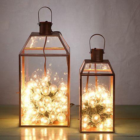 Las 25 mejores ideas sobre decoraci n de porta velas en - Porta velas navidenas ...