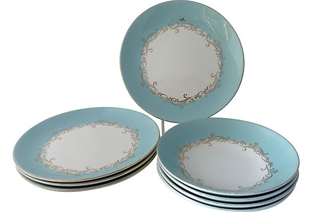 32 best images about Turquoise dishes on Pinterest  White ...