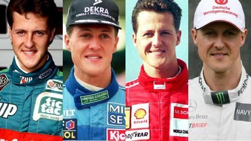 schumi from 28th August 1991 to 2012