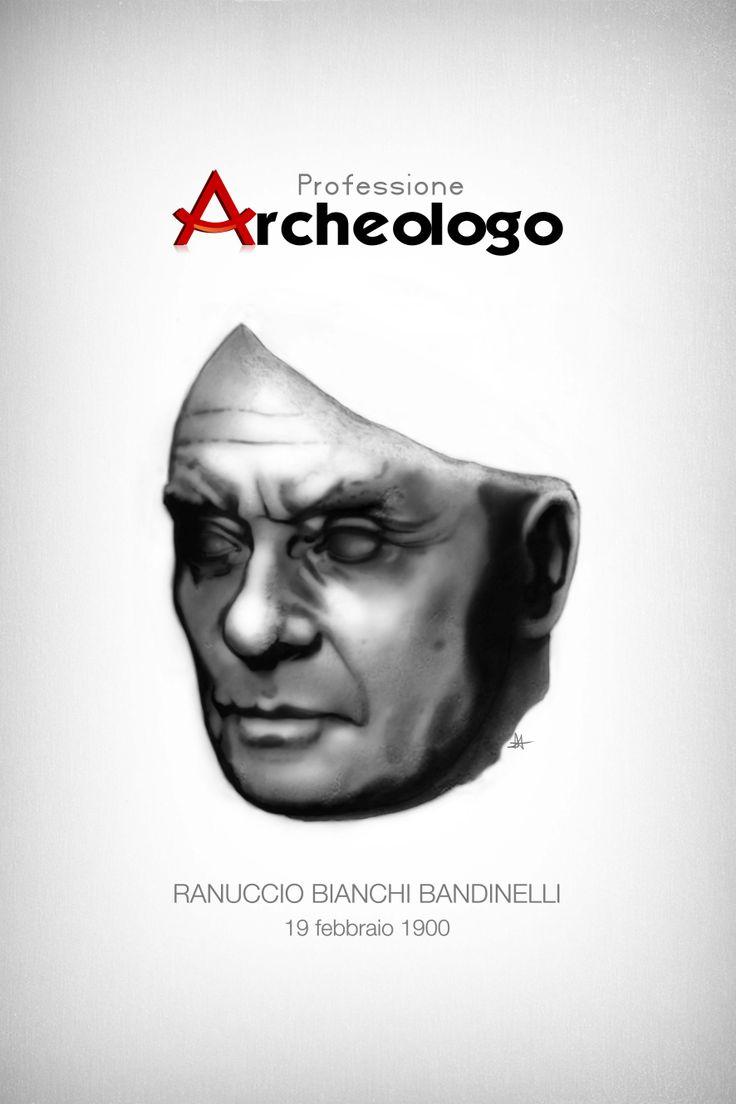 Ranuccio Bianchi Bandinelli. Soggetto, disegno e colori: Davide Arnesano