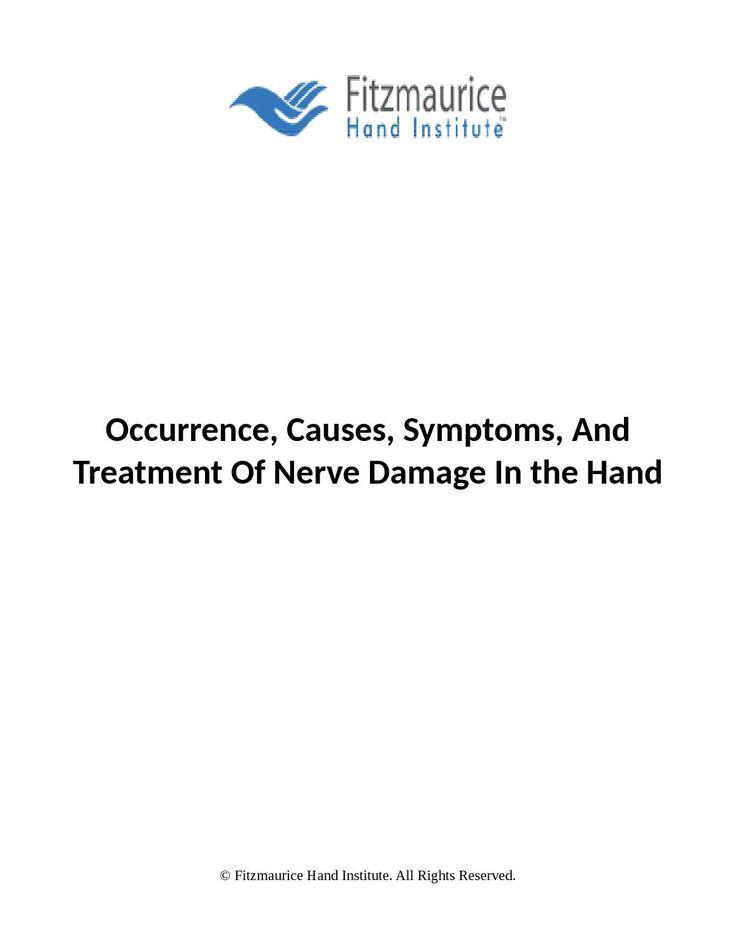 Nerve Damage In Hand