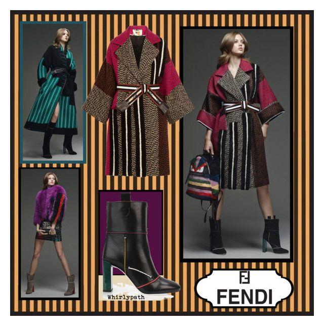 Fendi! by whirlypath on Polyvore featuring Fendi