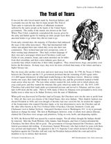 The Trail of Tears Printable - Native American History (2nd-5th Grade) - TeacherVision.com