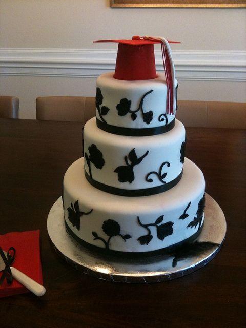 In bianco e nero di laurea Cake .....e tante altre