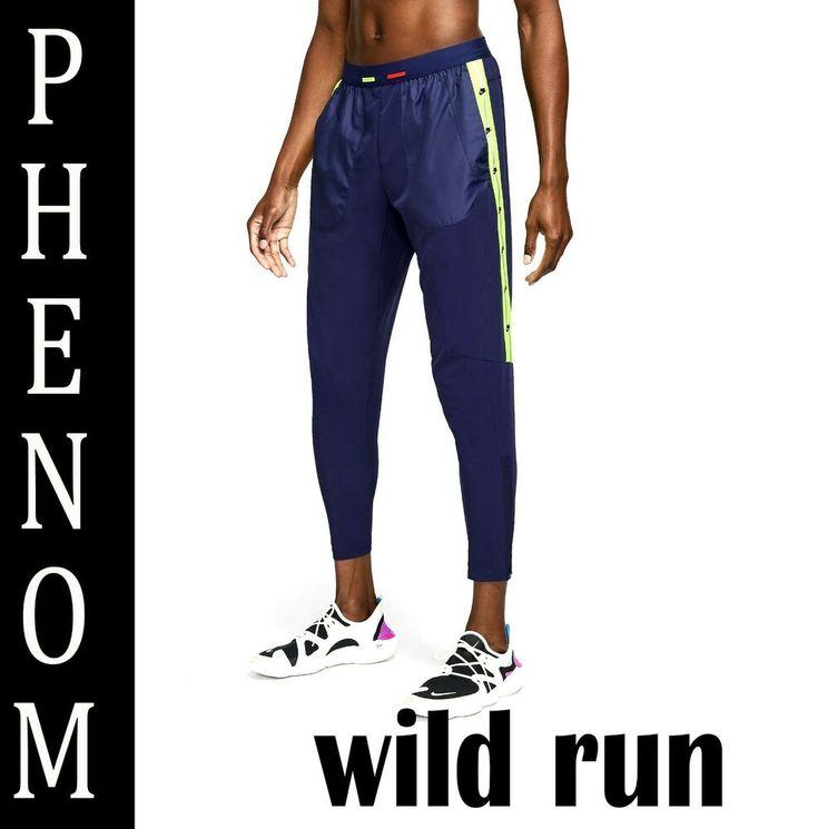 Mens nike drifit phenom wild run reflective joggers