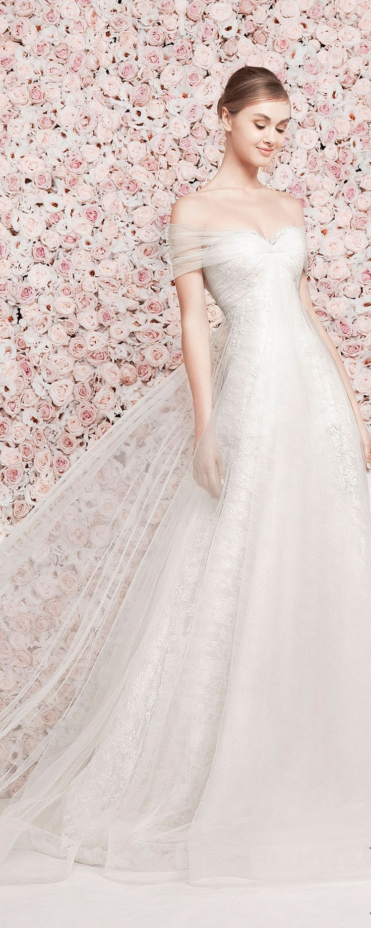 Very pretty -RH  -Georges Hobeika Bridal S/S 2014