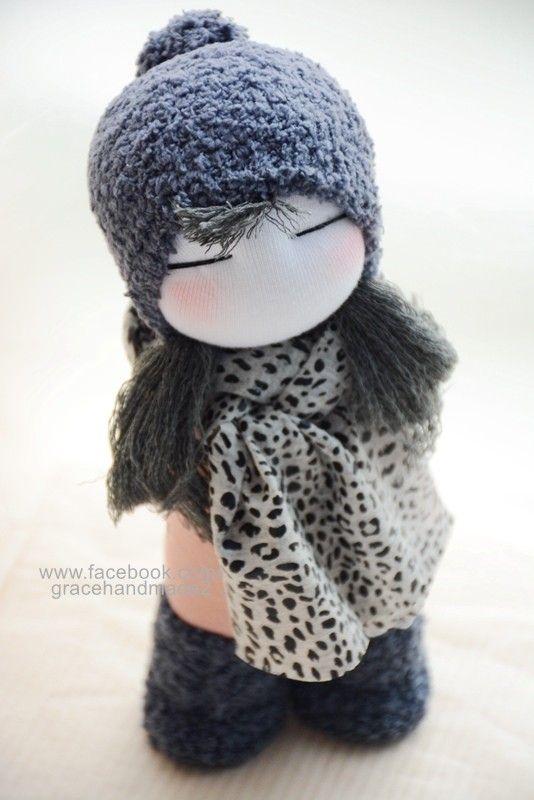 Grace--#289 sock doll