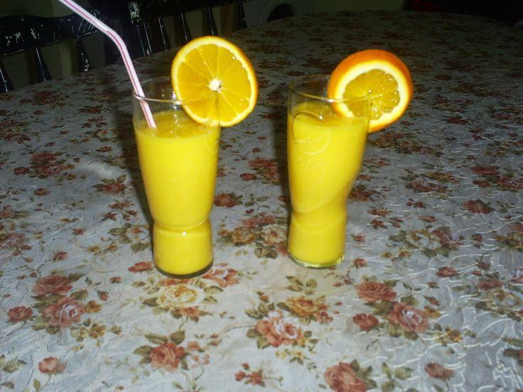Retete cu margareta cismasiu: Smoothie de portocale cu ghimbir